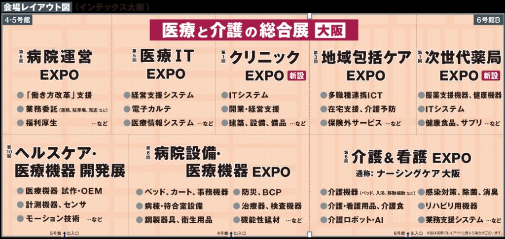 メディカルジャパン大阪展に出展します